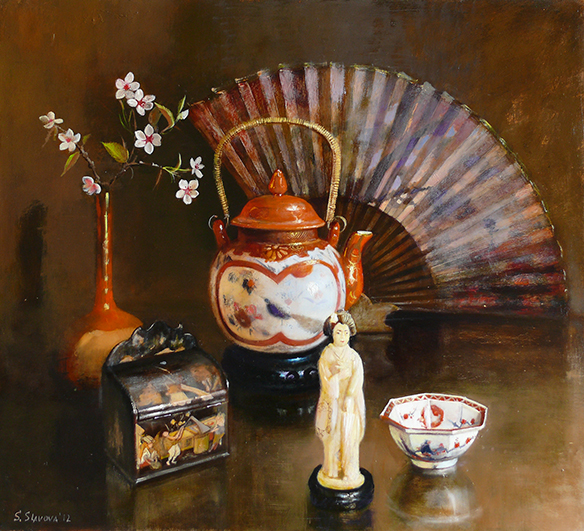 """Still Life With Japanese Porcelain"""