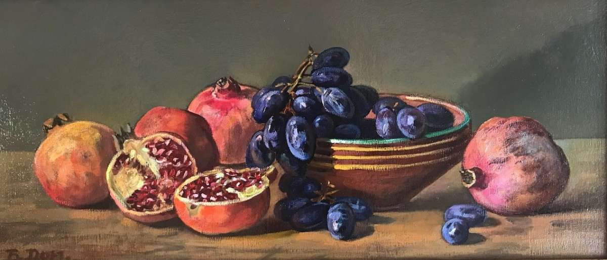 """Still life with fruits"""