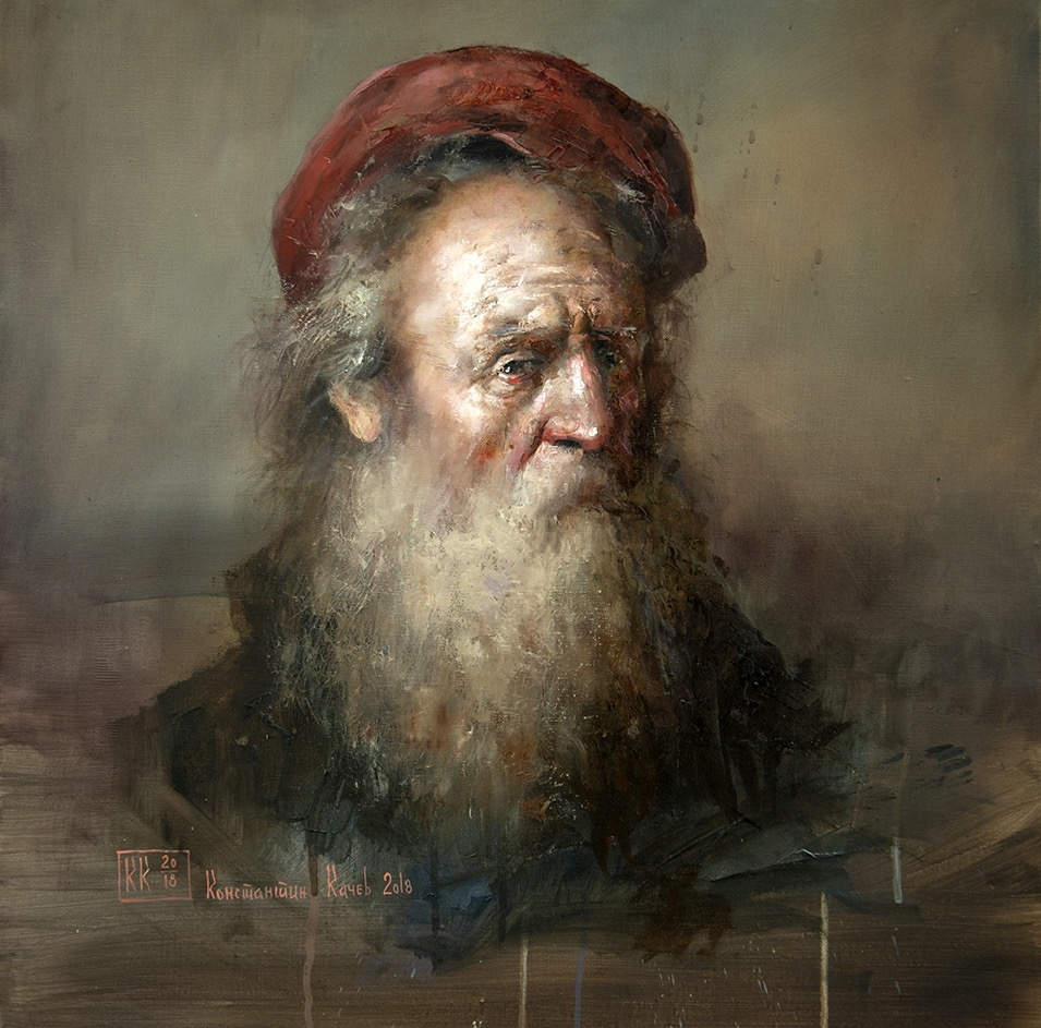 """Old man portret"""