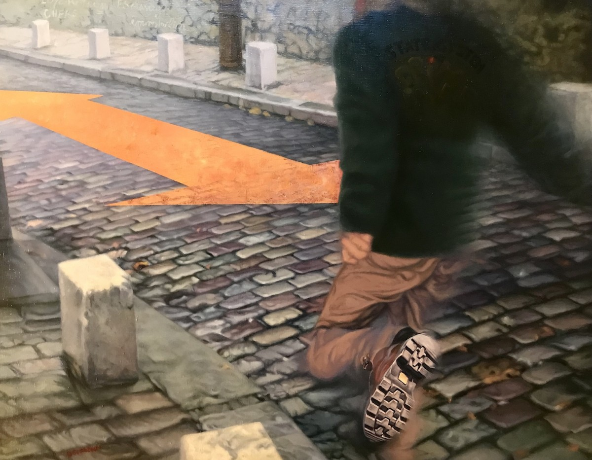 """Paris, Montmartre Pavement"""
