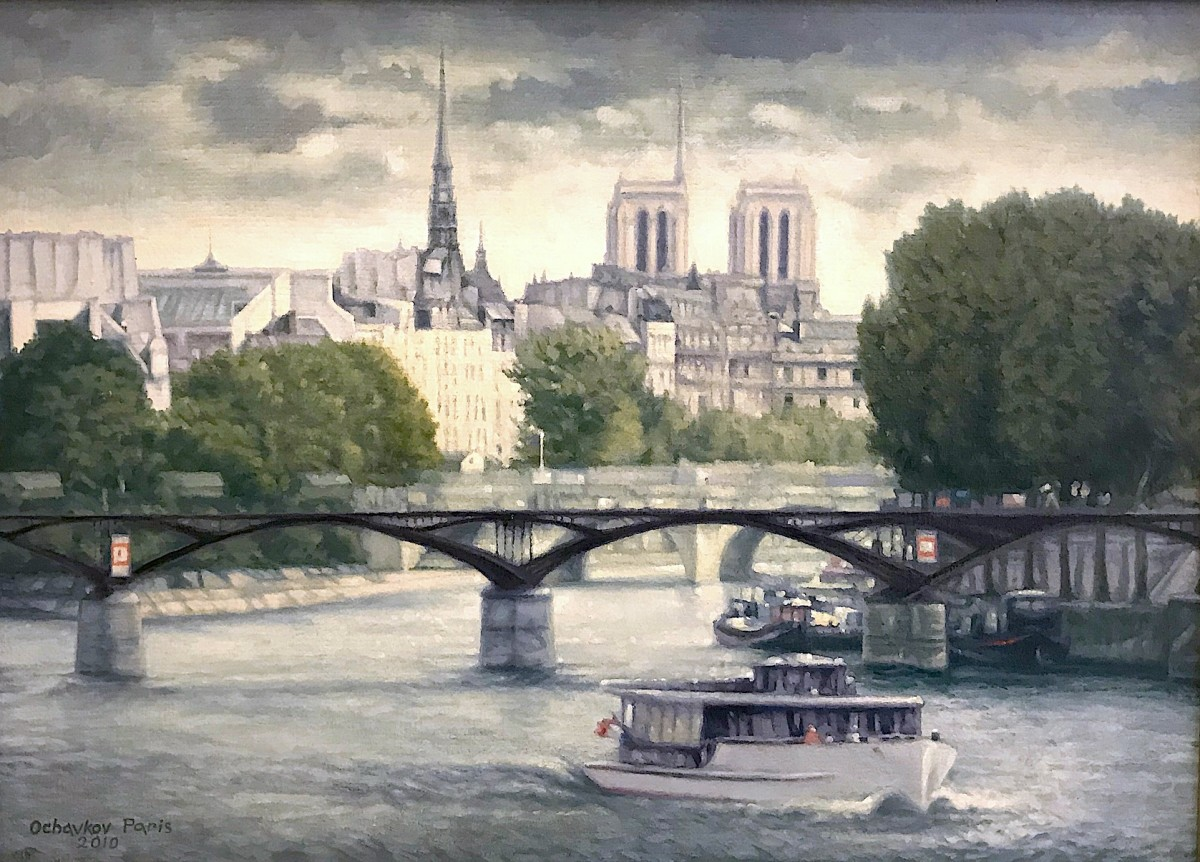 """Paris, the Bridge of Arts"""