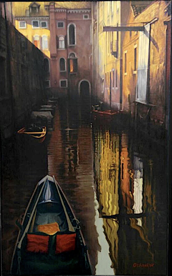 """Venice, Sunday Evening"""