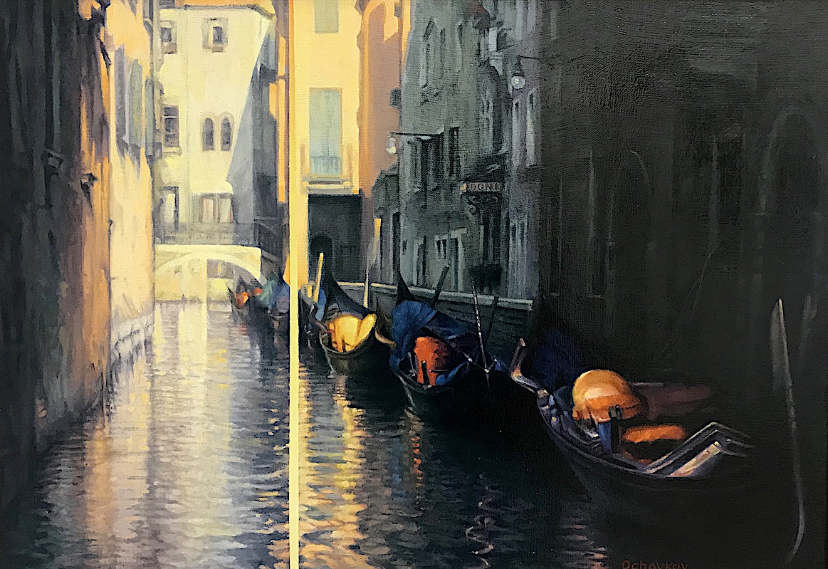 """Venice, Saturday Morning"""