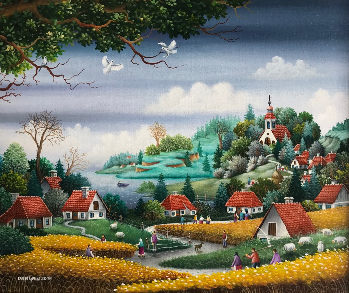 """The village of my chilhood"""
