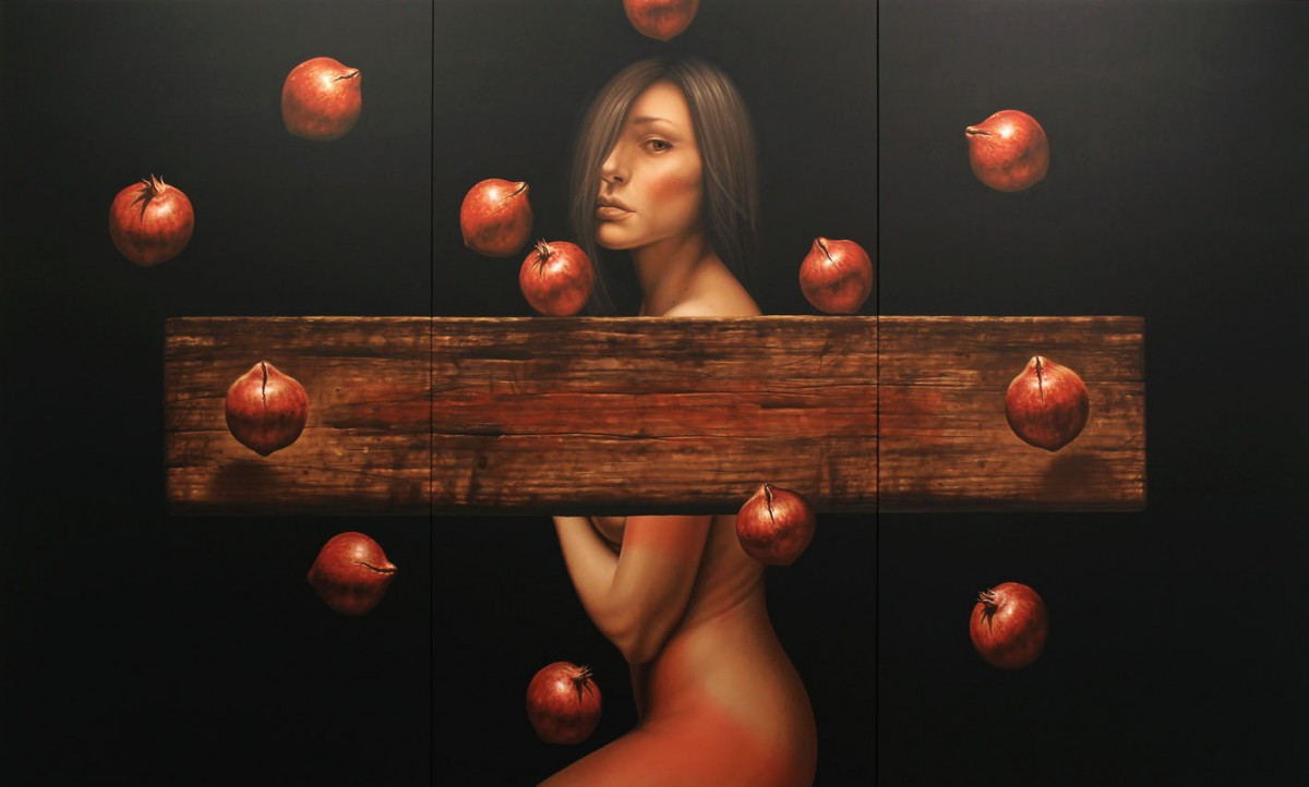 """Templation - Eva and forbidden fruit"""